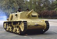 - Italian Army, self-propelled anti-tank gun Fiat Ansaldo 75/18 of World War II<br /> <br /> - Esercito Italiano, cannone semovente controcarro FIAT Ansaldo  75/18 della II Guerra Mondiale