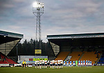 St Johnstone v Inverness Caley Thistle…03.12.16   McDiarmid Park..     SPFL<br />The teams observe a minutes silence in remembrance of the Brazilain football team Chapecoense who died in the Columbian plane crash<br />Picture by Graeme Hart.<br />Copyright Perthshire Picture Agency<br />Tel: 01738 623350  Mobile: 07990 594431