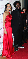 NEW YORK CITY, NY, USA - MARCH 07: Padma Lakshmi, Questlove at the 6th Annual Blossom Ball Benefiting Endometriosis Foundation Of America held at 583 Park Avenue on March 7, 2014 in New York City, New York, United States. (Photo by Jeffery Duran/Celebrity Monitor)