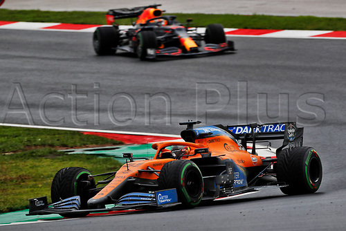 15th November 2020; Istanbul Park, Istanbul, Turkey; FIA Formula One World Championship 2020, Grand Prix of Turkey, Race Day;  55 CarlSainz ESP, McLaren F1 Team