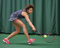 Rotterdam, The Netherlands, March 13, 2016,  TV Victoria, NOJK 12/16 years, Noa Liauw-A-Fong (NED)<br /> Photo: Tennisimages/Henk Koster