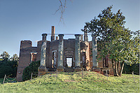The historical ruins located at Barboursville Vineyards located in Barboursville, Va. Photo/Andrew Shurtleff