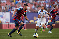 Cleveland, Ohio - Saturday, July 15, 2017: Matt Miazga during the USMNT vs Nicaragua in CONCACAF Gold Cup 2017 match at First Energy Stadium.