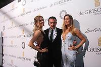 Nicole Kimpel, Antonio Banderas, Barbara Kimpel - 70EME FESTIVAL DE CANNES - SOIREE DE GRISOGONO