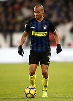 Calcio, Serie A: Torino, Juventus Stadium, 5 febbraio 2017.<br /> Inter Milan's Eduardo Joao Mario in action during the Italian Serie A football match between Juventus and Inter Milan at Turin's Juventus Stadium, on February 5, 2017.<br /> UPDATE IMAGES PRESS/Isabella Bonotto
