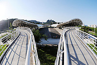Rio de Janeiro (RJ), 30/04/2020 - Covid-19-Rio - Para prevencao ao coronavirus (Covid-19),a estacao de onibus (BRT) do transporte publico,Centro Olimpico,na Barra da Tijuca na zona oeste do Rio de Janeiro, permanece fechada devido a pouca demanda de passageiros,nesta quinta-feira (30) (Foto: Alexandre Durao/Codigo 19/Codigo 19)