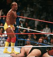 Hulk Hogan  Andre The Giant 1989                                            Photo By John Barrett/PHOTOlink