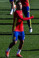 Spainsh Thiago Alcantara during the training of the spanish national football team in the city of football of Las Rozas in Madrid, Spain. November 10, 2016. (ALTERPHOTOS/Rodrigo Jimenez) ///NORTEPHOTO.COM