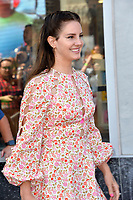 LOS ANGELES, USA. August 06, 2019: Singer Lana Del Rey at the Hollywood Walk of Fame star ceremony honoring director Guillermo del Toro.<br /> Picture: Paul Smith/Featureflash