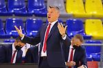 EUROLEAGUE 2020-2021. Playoffs.Game 1.<br /> FC Barcelona vs Zenit St. Petersburg: 74-76.