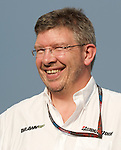 02 Apr 2009, Sepang Circuit, Kuala Lumpur, Malaysia --- Brawn GP Formula One Team owner Ross Brawn during the 2009 Fia Formula One Malasyan Grand Prix at the Sepang circuit near Kuala Lumpur. Photo by Victor Fraile --- Image by © Victor Fraile / The Power of Sport Images