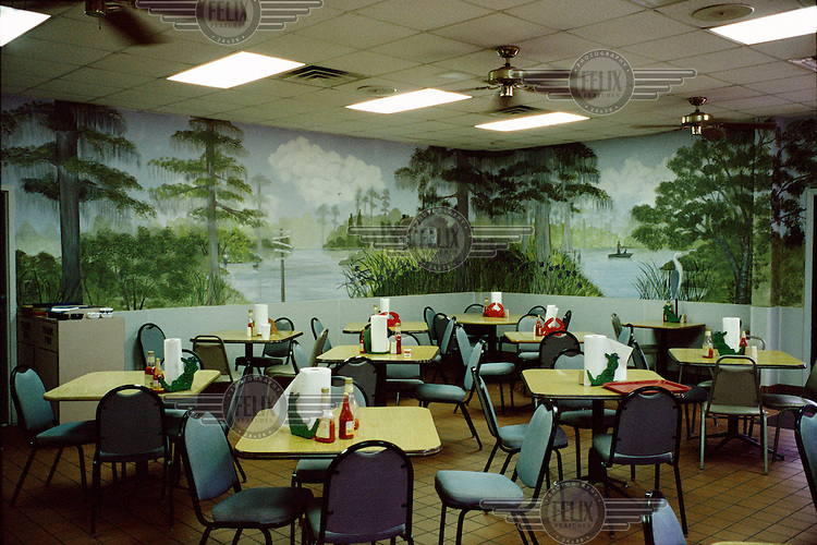 A seafood diner.