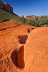 Bell Rock from Llama Trail, near Sedona, Arizona.  Available in sizes up to 40 x 60 inches.