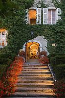 France, Haute-Savoie (74), Talloires: Hôtel-Restaurant: L'Abbaye de Talloires,  // France, Haute Savoie, Talloires:  Hôtel-Restaurant: L'Abbaye de Talloires,