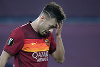 Stephan El Shaarawy of AS Roma during the Europa League round of 32 2nd leg football match between AS Roma and Braga at stadio Olimpico in Rome (Italy), February, 25th, 2021. Photo Andrea Staccioli / Insidefoto