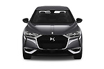 Car photography straight front view of a 2019 DS DS 3 Crossback Grand Chic 5 Door SUV