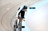 Michael Richmond competes in the Men U19 Sprint during the 2020 Vantage Elite and U19 Track Cycling National Championships at the Avantidrome in Cambridge, New Zealand on Saturday, 25 January 2020. ( Mandatory Photo Credit: Dianne Manson )