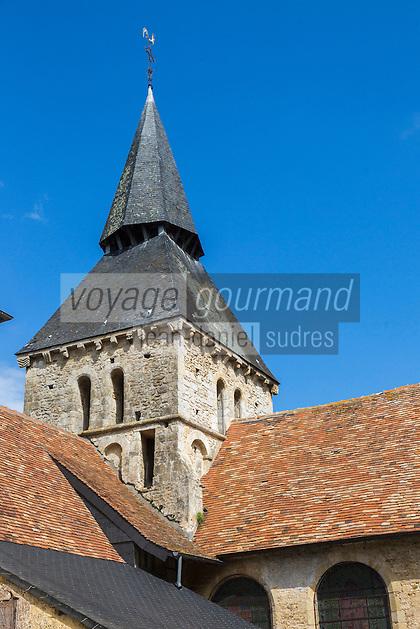 France, Calvados (14), Pays d' Auge, Cambremer, Église Saint-Laurent (XIe-XIIe siècles)  // France, Calvados, Pays d' Auge, Cambremer,  the church