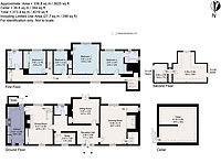 BNPS.co.uk (01202) 558833. <br /> Pic: Cheffins/BNPS<br /> <br /> Pictured: Floor plan. <br /> <br /> The perfect home for a recluse?<br /> <br /> A historic moated farmhouse that has not been sold for half a century is up for auction with a guide price of £600,000.<br /> <br /> Grade II listed Parsonage Farm is an English Heritage scheduled monument and is believed to be built on the site of an iron age fort.<br /> <br /> The house dates back to the 15th century and, having been in the same family for the past 50 years, is now in need of modernisation.<br /> <br /> But once renovated it could be worth £1.2m - double its current price tag.