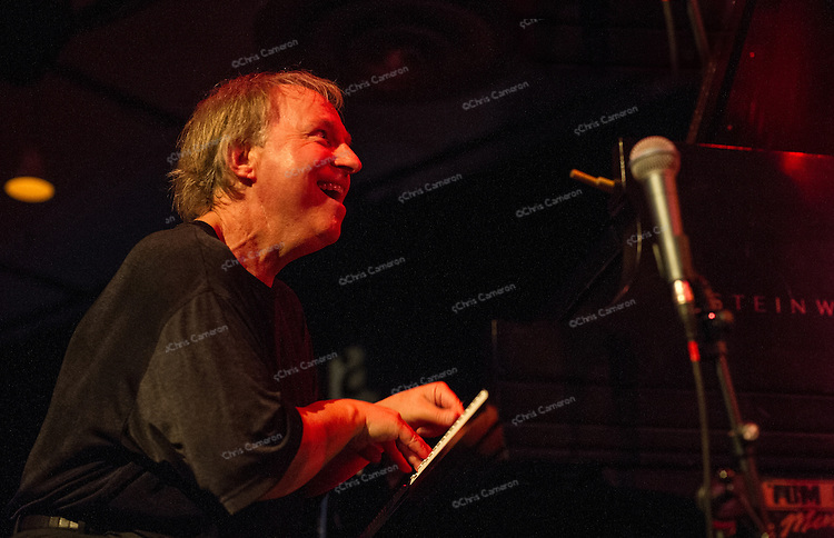 Paul Plimley plays with Tommy Babin and Joe Poole at Performance Works on June 20, 2014 TD Vancouver International Jazz Festival
