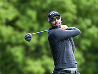 21.05.2015. Wentworth, England. BMW PGA Golf Championship. Round 1.  Alvaro Quiros [ESP] on the Par 4 3rd, during the first round of the 2015 BMW PGA Championship from The West Course Wentworth Golf Club