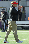 December 30, 2016: Georgia Bulldogs head coach Kirby Smart during pregame of the AutoZone Liberty Bowl at Liberty Bowl Memorial Stadium in Memphis, Tennessee. ©Justin Manning/Eclipse Sportswire/Cal Sport Media