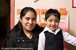 Education Preschool 3-5 year olds portrait of boy with his mother horizontal