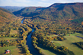 Hiwassee River emerging from Cherokee Nat. Forest