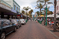 Napier, Emerson Street, Downtown Shopping District,  north island, New Zealand.