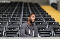 Friday 08 May 2015<br /> Pictured: Ashley Williams at the Liberty Stadium