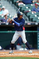 Toledo Mudhens Wynton Bernard (36) bats during a game against the Buffalo Bisons on May 18, 2016 at Coca-Cola Field in Buffalo, New York.  Buffalo defeated Toledo 7-5.  (Mike Janes/Four Seam Images)