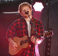 CARSON, CA, USA - MAY 10: Ed Sheeran performs at 102.7 KIIS FM's 2014 Wango Tango at StubHub Center on May 10, 2014 in Carson, California, United States. (Photo by Xavier Collin/Celebrity Monitor)
