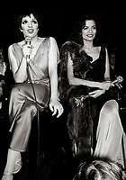 Minelli Jagger6872.JPG<br /> New York, NY 1978 FILE PHOTO<br /> Liza Minelli, Bianca Jagger<br /> Studio 54<br /> Digital photo by Adam Scull-PHOTOlink.net<br /> ONE TIME REPRODUCTION RIGHTS ONLY<br /> NO WEBSITE USE WITHOUT AGREEMENT<br /> 718-487-4334-OFFICE  718-374-3733-FAX