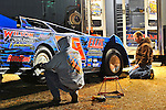 Feb 03, 2011; 6:49:33 PM; Sylvania, GA., USA; An Unsactioned Racing Event Running a 10,000 To Win During Speedweeks 2011 At Screven Motor Speedway.  Mandatory Credit: (thesportswire.net)