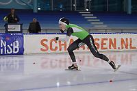SCHAATSEN: HEERENVEEN: 21-12-2019, IJsstadion Thialf,KNSB trainingswedstrijd, Michelle de Jong, ©foto Martin de Jong