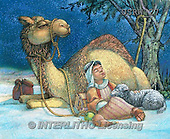Randy, HOLY FAMILIES, HEILIGE FAMILIE, SAGRADA FAMÍLIA, paintings+++++Camel-Shepherd-Boy,USRW27,#xr#