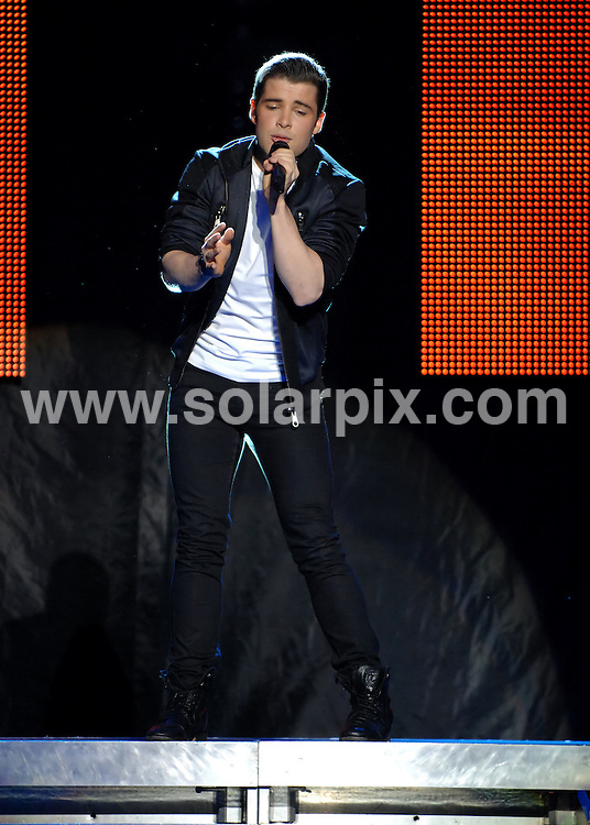 **ALL ROUND PICTURES FROM SOLARPIX.COM**                                             **WORLDWIDE SYNDICATION RIGHTS**                                                                                  Caption: Joe McElderry performing at Liverpool Philharmonic Hall last night.                                                                                                                                                              JOB REF: 14229       SGD       DATE: 22.11.2011                                                           **MUST CREDIT SOLARPIX.COM OR DOUBLE FEE WILL BE CHARGED**                                                                      **MUST AGREE FEE BEFORE ONLINE USAGE**                               **CALL US ON: +34 952 811 768 or LOW RATE FROM UK 0844 617 7637**