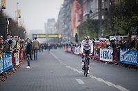 Alexander Kristoff (NOR/UAE) returning from sign-o<br /> <br /> 103rd Ronde van Vlaanderen 2019<br /> One day race from Antwerp to Oudenaarde (BEL/270km)<br /> <br /> ©kramon