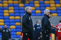 AFC Wimbledon manager Glyn Hodges during AFC Wimbledon vs Crawley Town, Emirates FA Cup Football at Plough Lane on 29th November 2020