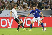 Jonas Hector (Deutschland Germany) gegen Jukka Raitala (Finnland) - Deutschland vs. Finnland, Borussia Park, Mönchengladbach