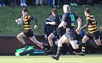 Saturday 17th February 2018 | RBAI vs Sullivan<br /> <br /> Bradley McNamara during the Ulster Schools' Cup Quarterfinal between RBAI and Sullivan at Cranmore Park, Belfast, Northern Ireland. Photo by John Dickson / DICKSONDIGITAL