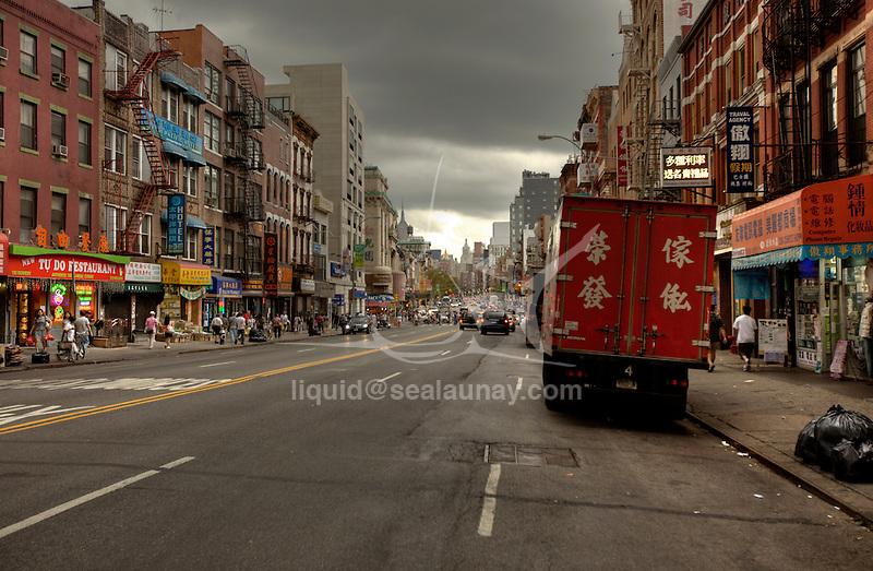 Chinatown, Manhattan, New York City.