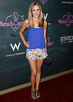 HOLLYWOOD, LOS ANGELES, CA, USA - AUGUST 28: Jessica Kinni arrives at the Benchwarmer Back To School Celebration to Benefit Children of the Night held at Station Hollywood at the W Hotel Hollywood on August 28, 2014 in Hollywood, Los Angeles, California, United States. (Photo by Xavier Collin/Celebrity Monitor)