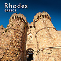 Rhodes Medieval City Pictures, Images & Photos