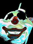 Clown, Scary Clowns of Las Vegas.  Photo art by Alan Mahood.