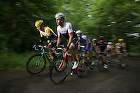 Robert Wagner (DEU/LottoNL-Jumbo) & Marco Coledan (ITA/Trek Factory Racing) leading a grupetto to the finish<br />  <br /> stage 4: Hotel Verviers - La Gileppe (187km)<br /> 29th Ster ZLM Tour 2015