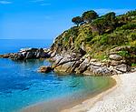 Italien, Toskana, Insel Elba, Cavoli Strand im Sueden | Italy, Tuscany, island Elba, Cavoli beach at South