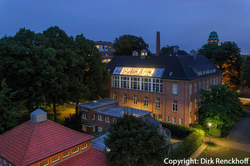 Inustrie-Architektur im ehemaligen Krankenhaus Baembek, Hamburg, Deutschland, Europa<br /> industrail architecture in former hosptal Barmbek, Hamburg, Germany, Europe