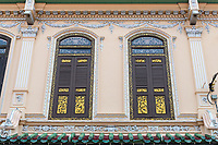 Baba Nyonya Heritage Museum, Second Floor Windows, Melaka, Malaysia.