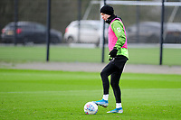 Bersant Celina of Swansea City during the Swansea City Training at The Fairwood Training Ground in Swansea, Wales, UK.  Wednesday 08 January 2020